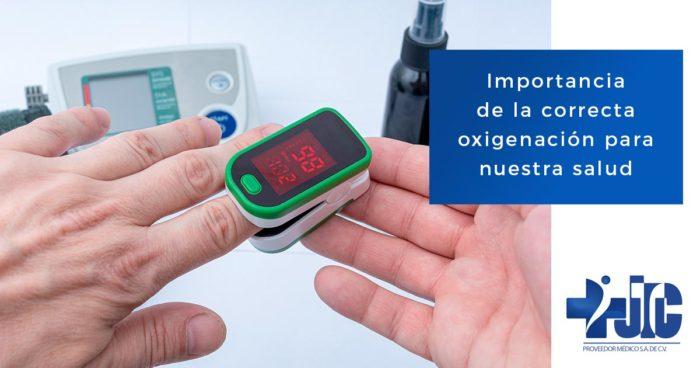 Importancia de la correcta oxigenación para nuestra salud